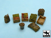 Food supplies #1 accessories set 32 resin parts