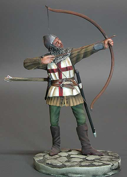 Archer of  the mid –14 th to early 15 th - Image 1