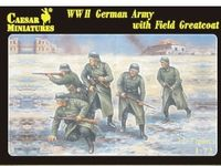 German IIWW Army with Field Greatcoat
