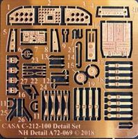 CASA C-212-100 Detail set for Special Hobby