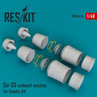 Su-33 exhaust nozzles for Kinetic Kit - Image 1