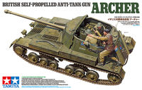British Anti Tank Gun Archer - Self Propelled