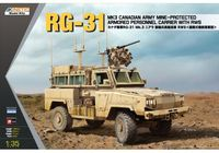 RG-31 MK3 Canadian Army Mine-Protected Armored Personnel Carrier with RWS