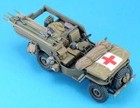 Willys Ambulance Conversion set (for 1/35 Willys,w/Decal) - Image 1