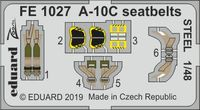 A-10C seatbelts STEEL ITALERI - Image 1