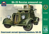 BA-20 Russian armoured car
