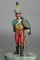 Austrian Wachtmeister,  4 th Hussars  c.1805