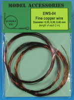Fine copper wire Diameter: 0.35, 0.38, 0.40 - Image 1