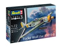 Focke Wulf Fw190 F-8 Model Set - Image 1