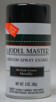 2916 British Green Metallic Spray