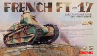 TS-011 French FT-17 Light Tank (Riveted Turret)