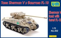 Sherman V tank with turret FL-10 - Image 1
