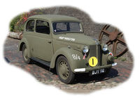British Staff Car Forlite Saloon 8HP Model 1939