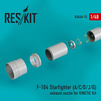 F-104 Starfighter (A/C/D/J/G) exhaust nozzle for KINETIC Kit - Image 1