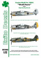 Decals Wulf Pack vol.1 - Focke-Wulf Fw 190A