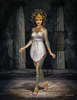 Ancient Greek Myths Series Medusa