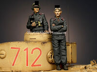 Panzer Commander Set (2 figs) - Image 1