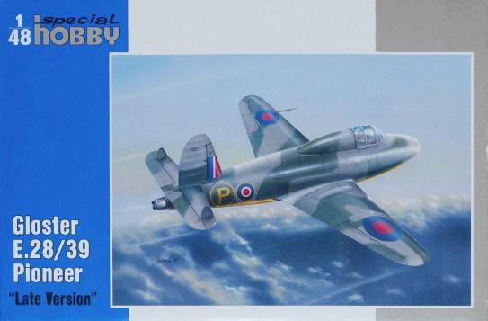 claisse - CLEAR PROP -1/72 - GLOSTER PIONEER - Un jet avec pilote FAFL, c'est pas commun! Maurice Claisse 1608_rd