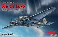 He 111H-6 WWII German Bomber - Image 1