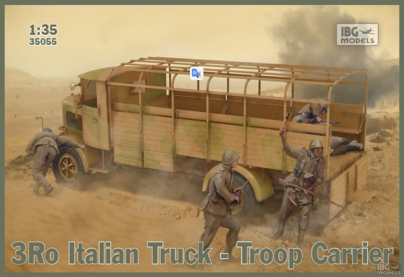 3Ro Italian Truck Troop Carrier - Image 1