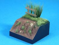 European Terrain figure base (48*48*24mm3)
