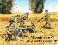 Counterattack Soviet infantry, summer 1941