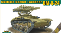 BM-8-24 multiple rocket launcher
