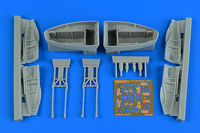 Beaufighter TF.X wheel bay set REVELL