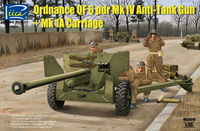 British  Ordnance QF 6 pdr Mk IV Anti-Tank Gun and Mk 1a Carriage