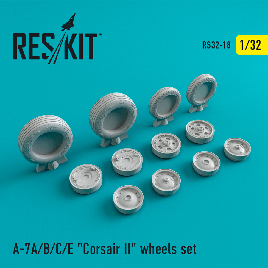 "A-7 ""Corsair II""A/B/C/E wheels set - Image 1"