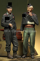 German Panzer Crew Set (2 figs) - Image 1