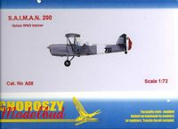 S.A.I.M.A.N. 200 Italian WWII trainer