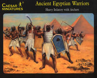 Ancient Egyptian Warriors (Heavy infantry with Archers)