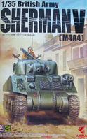 35-016 1/35 British Army Sherman V (M4A4)