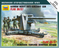 German Heavy Anti-Aircraft Gun FLAK 36/37 (8,8cm) Art of Tactic
