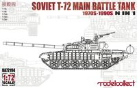 Soviet T-72 Main Battle Tank 1970s-1990s 5 in 1 - Image 1