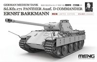 German Medium Tank Sd.Kfz.171 Panther Ausf.D Commander Ernst Barkmann