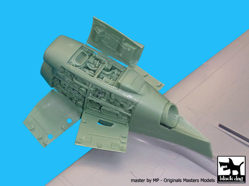 A-400 M Atlas 1 Engine for Revell - Image 1