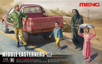 Middle Easterners (4 figures)