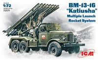 BM-13-16 Katiusha Soviet Mutiple Launch Rocket System