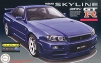 Nissan Skyline GT-R (R34) with Car Name Plate