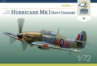 Hurricane Mk I Navy Colours Model Kit - Image 1