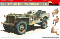 Bantam 40 BRC w/British crew (3 figures included) Special Edition - Image 1