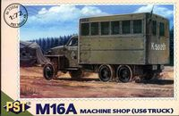 Soviet M16A Machine shop truck on Studebaker US6 - Image 1