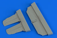 Bf 109G-6 control surfaces TAMIYA
