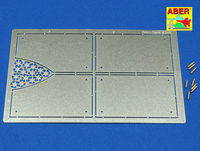 Tiger II Henshel- Vol.4- Armour for grilles (TAM,TRU) - Image 1