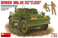 DINGO Mk.III BRITISH SCOUT CAR w/CREW
