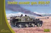 Soviet self-propelled gun ASU-57