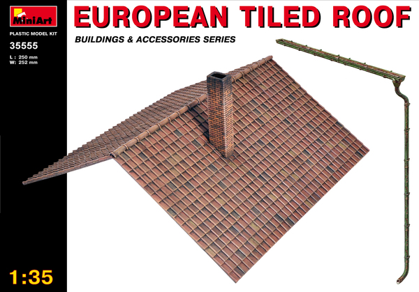 EUROPEAN TILED ROOF - Image 1