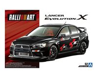 RALLIART CZ4A LANCER EVOLUTION X 07 (MITSUBISHI)
